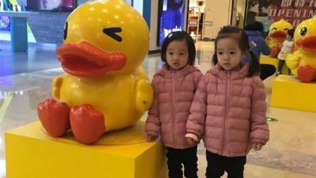 杨威的双胞胎女儿一个像爸爸一个像妈妈, 网友: 史上最好认