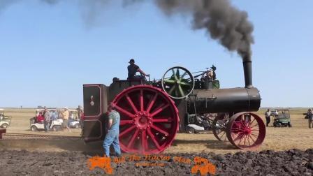 蒸汽动力机车耕地, 黑烟滚滚