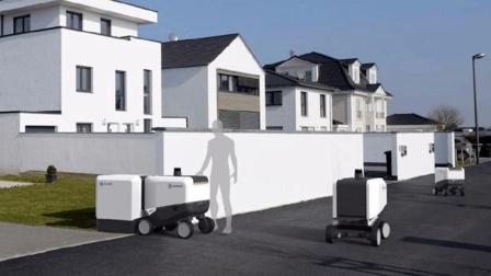 2020年送货机器人将全面普及, 快递小哥该怎么办?