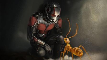 漫威里唯一用蚂蚁当坐骑的超级英雄, 一开始还嫌弃, 后来真好