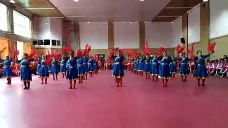 视频制作 萱子;通辽市健身操工委第四季度赛活动中心健身队表演的第三套安带舞