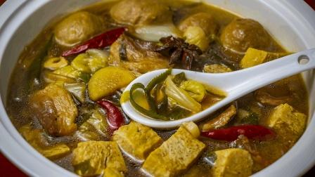 大烩菜怎么做才好吃? 教你农家做法, 汤香菜入味, 冬天吃真过瘾!