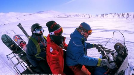 """""""最美的不是下雪天,是和你一起滑过雪的山""""——W酒店vip定制快剪"""