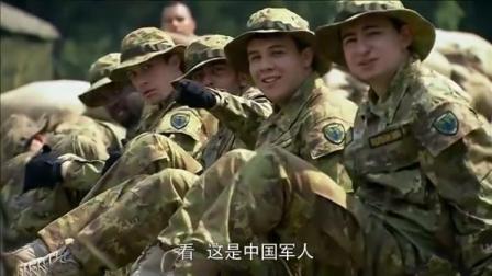 优秀的中国士兵参加交流培训,众人看到,表情呆了