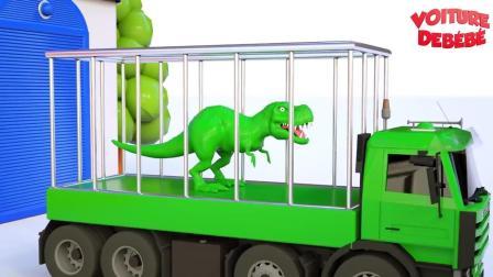 小汽车儿童动画英文儿歌幼儿教育系列(十五)