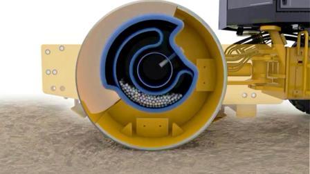 压路机圆筒内部结构原来是这样的? 一直以为是个大铁桶!