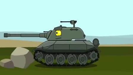 《坦克世界搞笑动画》一排大管子都没有我183牛!