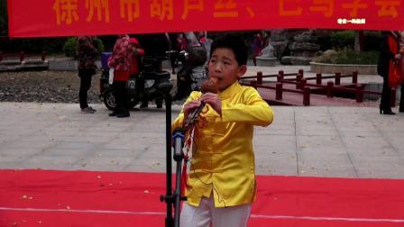 葫芦丝;打跳欢歌 演奏: 学会会员裴子顺