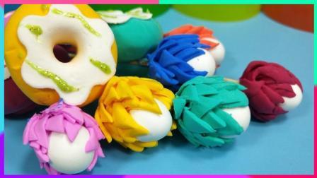 灵犀小乐园之美食小能手 蛋糕装饰自制黏土花朵