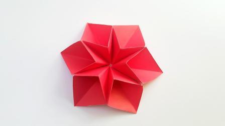 折纸王子折纸六瓣组合装饰花