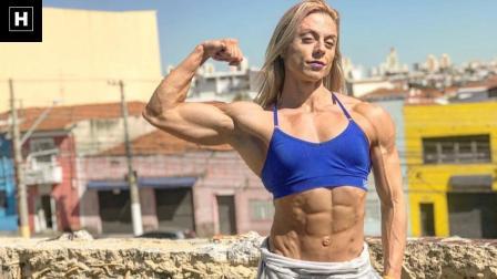 IFBB PRO小姐姐阿曼达上半身训练集锦