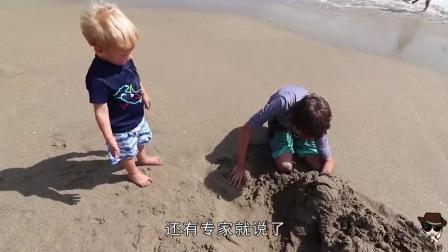 在海边玩到底能不能把身体埋沙子里? 看埋过的人怎么说!