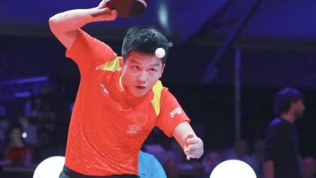 男乒经典 李尚洙碰上了克星樊振东 全力一搏也是难逃一败