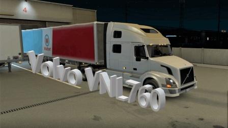 【ATS】美国卡车模拟官方终于加入沃尔沃VNL760试驾