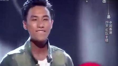 《中国好声音》陈乐基唱的《月半小夜曲》太棒了, 导师欠他个冠军
