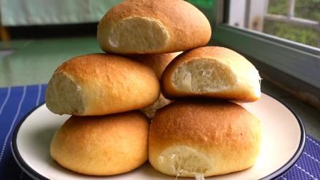 懒人酸奶面包的做法, 一次发酵, 比棉花还要松软