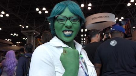 《走进美国》:女性超级英雄齐聚纽约动漫展