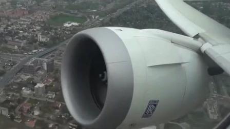 波音客机起飞, 超快速度爬升, 乘客: 心脏受不了