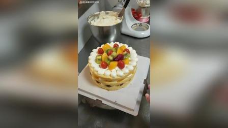 水果裸蛋糕制制作