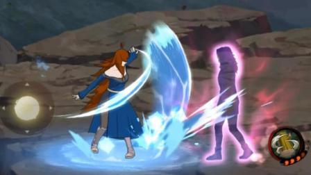 火影忍者手游 没想到照美冥普攻可以挡技能