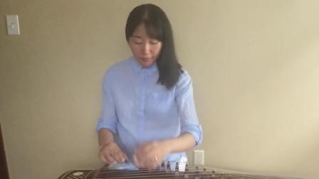 古筝独奏《穿越时空的思念》, 适合古筝新手跟着学习