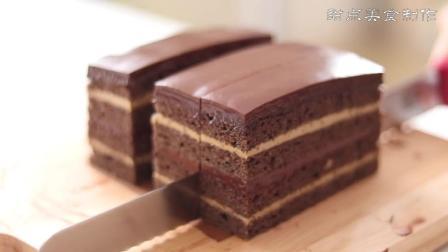 美味食谱, 好吃的咖啡巧克力蛋糕, 这样的蛋糕, 当做下午茶很合适