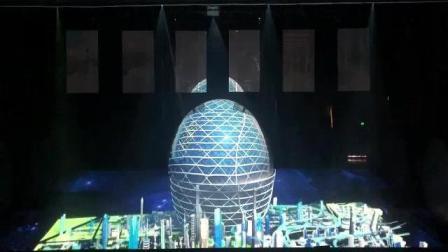 创意开场上海八分钟舞蹈全息威亚裸眼三D, 上汽集团