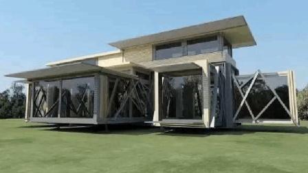 """马云真的没骗人, 世界首款""""折叠房子量产""""一天就能入住, 只要10万元"""