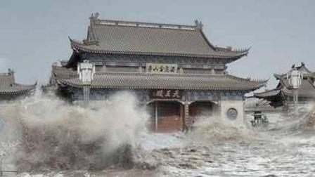 陕西有一座神庙, 百年来让洪水绕道走, 专家都解释不了, 被3个学生揭开谜团!