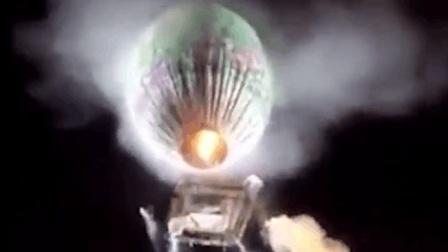缅甸一装满烟花的热气球空中爆炸砸到地上  伤九人
