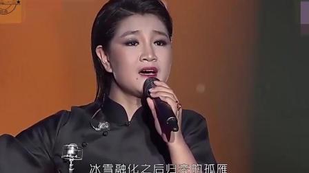 这人唱的这首《西海情歌》除了刀郎, 没人敢说比她好听, 最美女中音好听至极