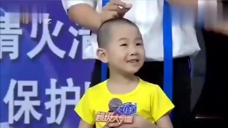 长大后的张峻豪打招呼紧张, 李鑫称其参演吴京电影, 观众表示疑惑