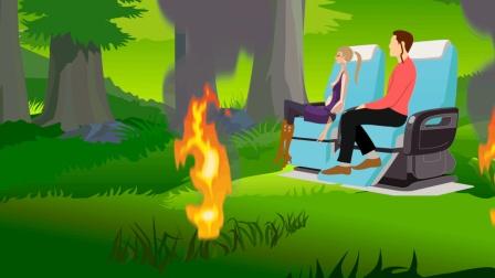 脑力测试森林里的两个人是怎么死的