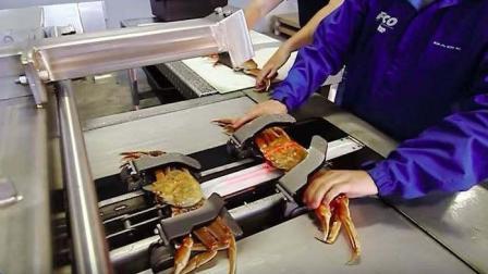 老外发明了剥螃蟹机器, 一分钟剥45只, 吃货表示: 太浪费了