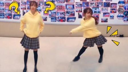 被坑了! 跳舞女生秒变小短腿!