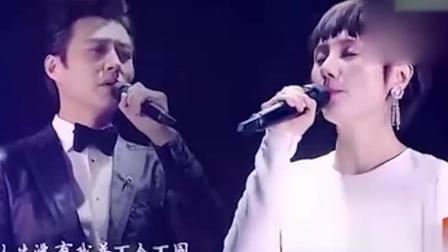老干部靳东携手袁泉深情对唱情歌, 超好听, 被演员耽误的歌手
