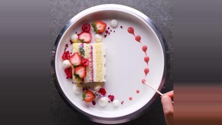 法国甜点大师教你摆盘技巧2