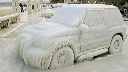 汽车零下36度冻一晚还能启动吗? 老外测试, 特斯拉无视严寒!