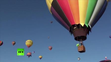 百余热气球墨西哥升空, 庆祝国际热气球节