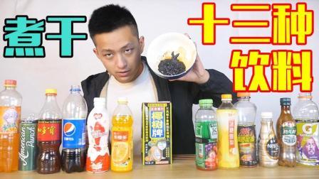 不作会死 2018:把十三种饮料混合之后熬干会怎么样? 就像牛扎糖一样!        9.3