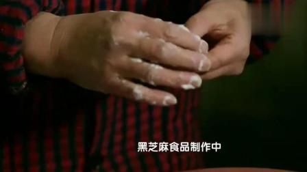 《一饭胡麻度几春》黑芝麻沙糕, 衢州麻饼