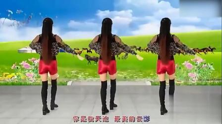 简单32步广场舞《最炫民族风》经典老歌, 简单易学送给你们