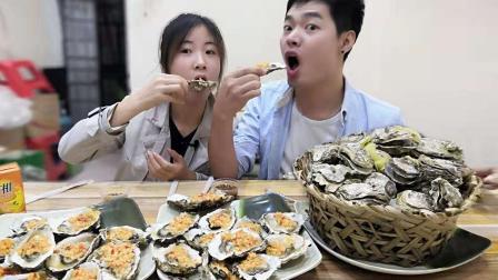 厦门海鲜不宰人: 生蚝2元一只, 听到价格后, 我们默默吃了100只!