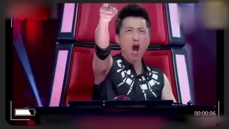 这才是真正的《中国好声音》, 一开口导师吓一跳, 全部转身!