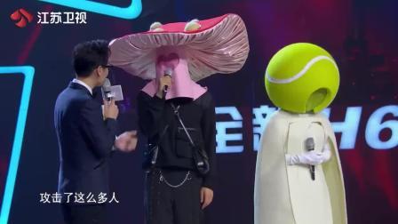 热门综艺节目: 谢霆锋参加蒙面唱将猜猜猜, 变段