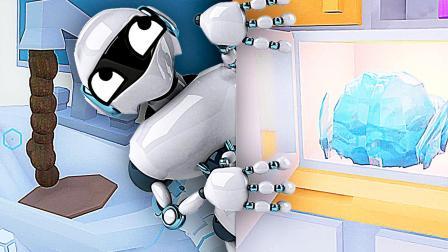 【屌德斯解说】 模拟家政机器人 千万不要让智能机器人一个人在家!