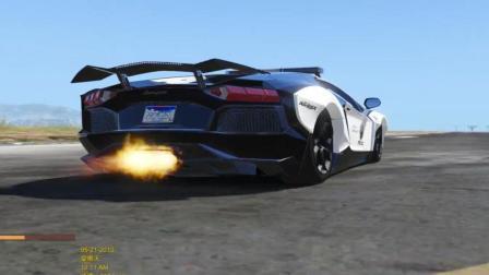 GTA5: 你见过这么快的警用兰博基尼吗?