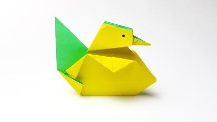 折纸王子折纸小黄鸭