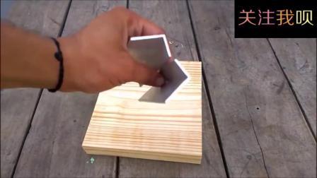 自制木工实用工具, 结构简单经久耐用!