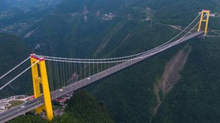 中国里程碑的工程, 跨越900米天险, 用火箭弹造桥, 堪称世界首创